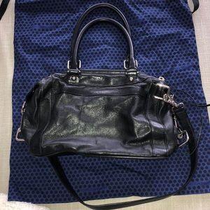 Rebecca Minkoff Black/ blue MAB Morning After Bag